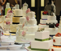 Squires Kitchen Exhibition Wedding Cake Showroom