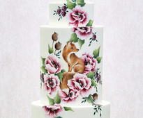 Find this cake in the October/November issue of Cakes & Sugarcraft magazine, out now!