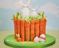 Easter Bunnies Cake Decorating Project by Vicky Turner