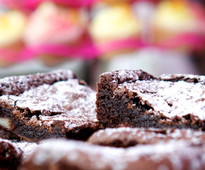 Brownies - The Big Thame Bake 2015 announcement from Cakes & Sugarcraft magazine