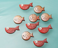 Catch of the Day biscuits by Carlos Lischetti