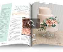 Look inside issue 129 of Cakes & Sugarcraft Magazine