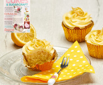 Find out how to make these lemon cupcakes in Cakes & Sugarcraft magazine