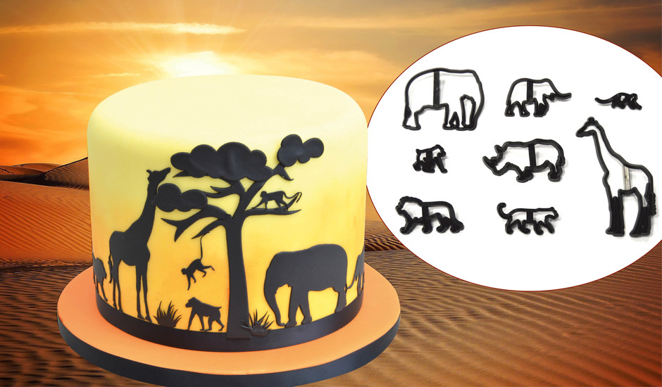 Cakes & Sugarcraft Magazine | Cake Chat | Win a Safari Silhouette Set