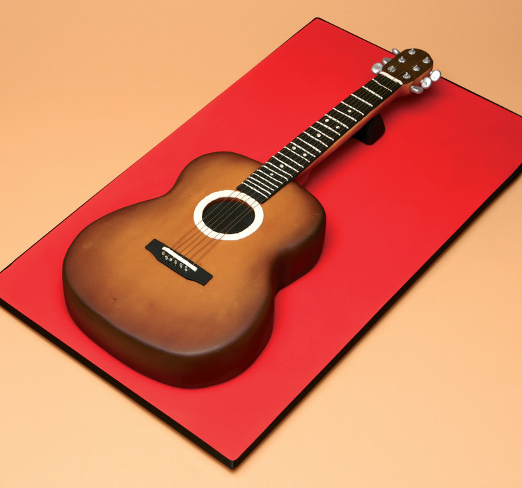 guitar templates for cakes - cakes sugarcraft magazine