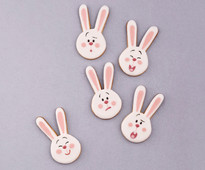 Bunny Biscuits by Carlos Lischetti