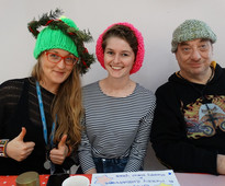 Woolly Hat Day for St Mungo
