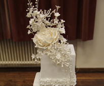 Justine Talbot - Level 2 Cake & Flowers at Brooklands College Sugarcraft & Bakery Exhibition 2015