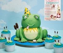 Find out how to make this frog cake in Cakes & Sugarcraft magazine