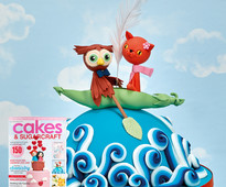 February/March issue of Cakes & Sugarcraft cake decorating magazine out now!