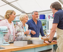 The Great Comic Relief Bake Off Mel Giedroyc Mary Berry Paul Hollywood Jonathan Ross