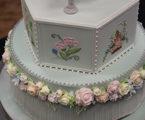 Tessa Whitehouse - Level 3 Royal Icing at Brooklands College Sugarcraft & Bakery Exhibition 2015