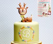 Find out how to make this fawn cake in Cakes & Sugarcraft magazine