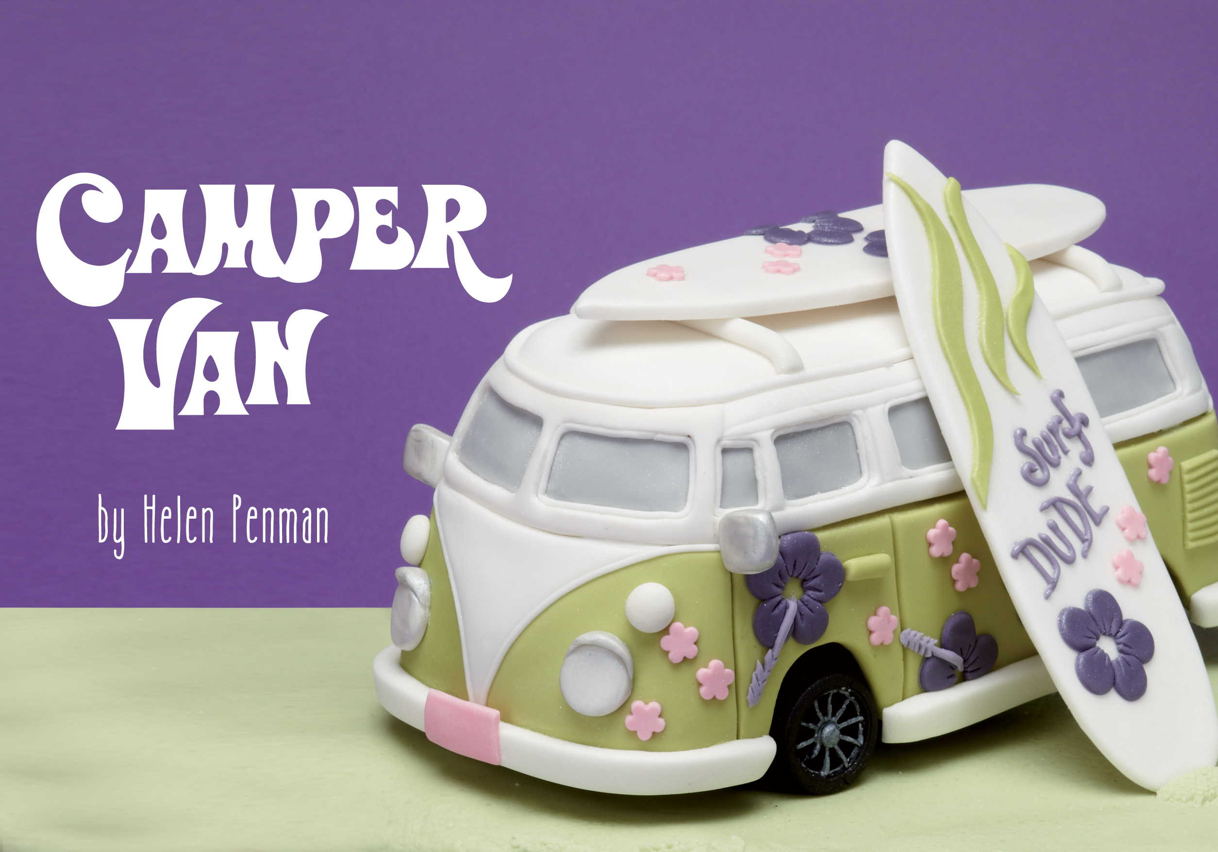 How To Decorate A Vw Campervan Cake